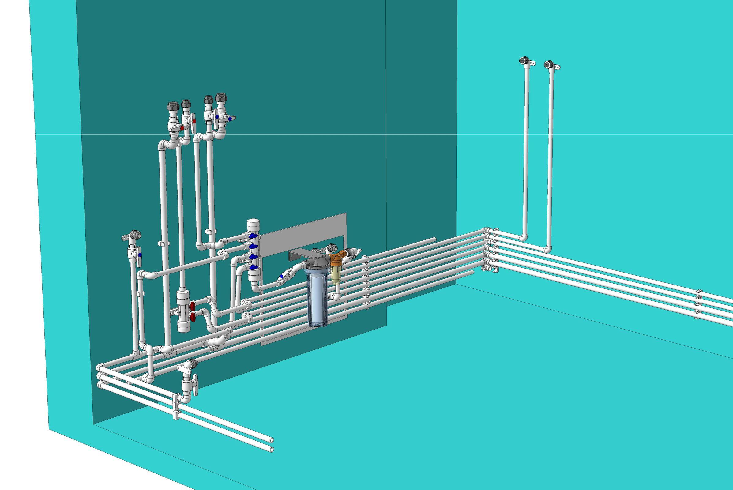 Как методом холодной сварки отремонтировать трубы с горячей водой