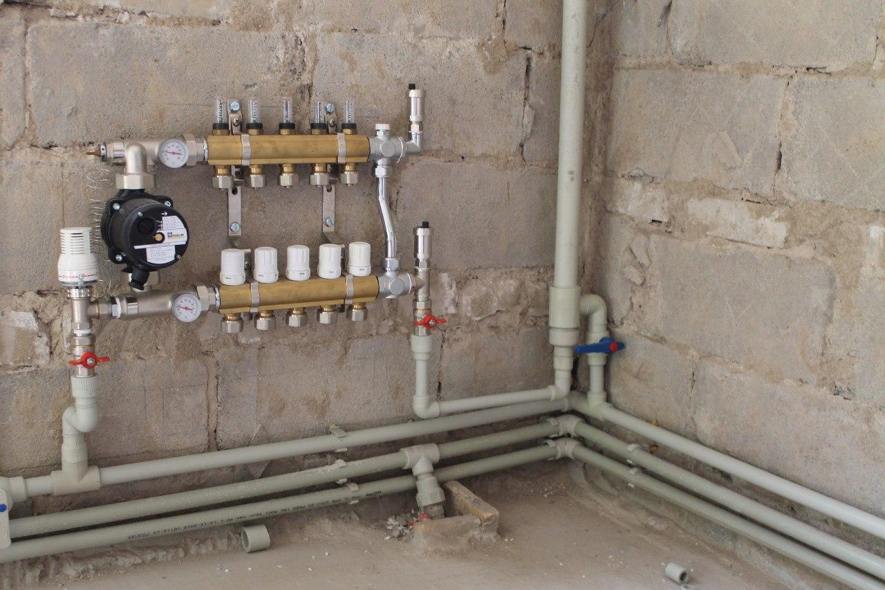 Отопление сшитый полиэтилен своими руками фото 309