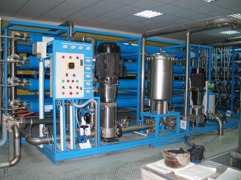 промышленный фильтр питьевой воды