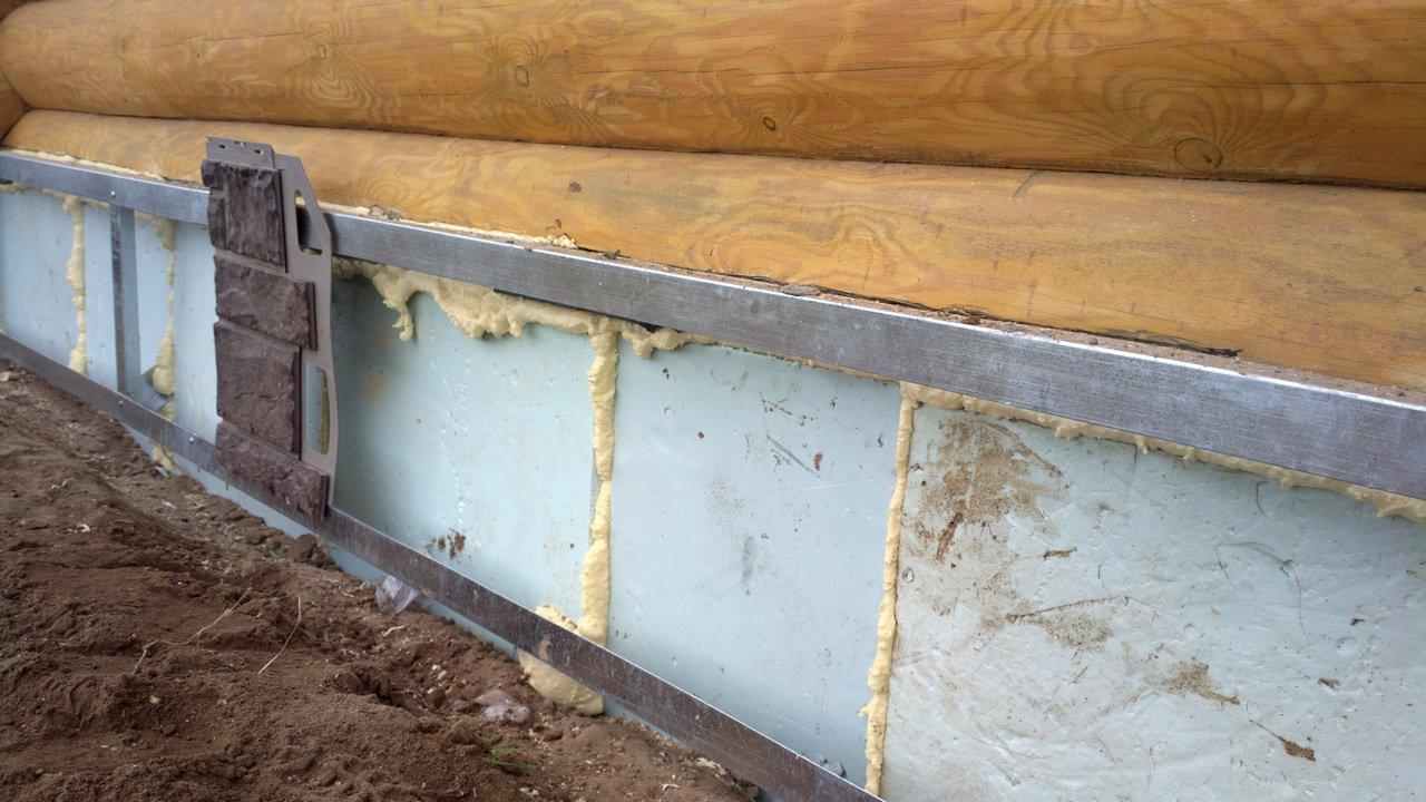 Утеплить фундамент деревянного дома снаружи пеноплексом своими руками фото 922