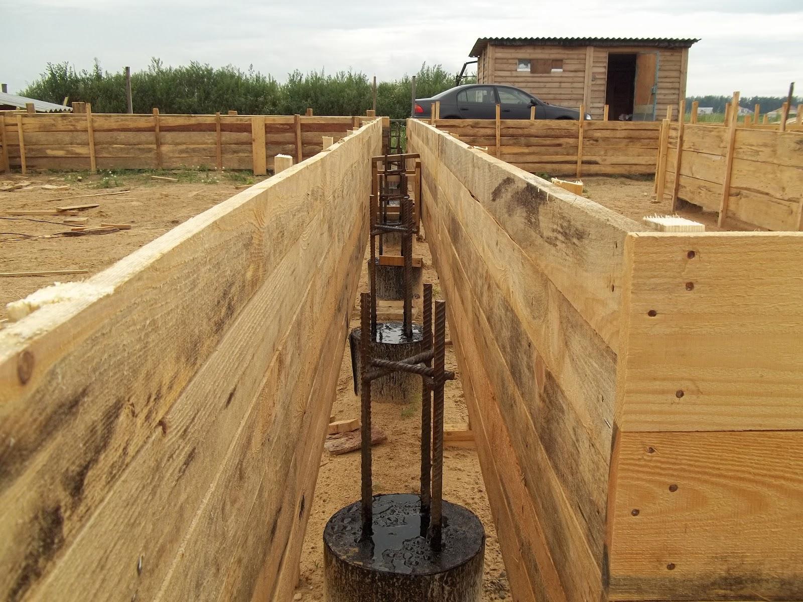 Свайно ростверковый фундамент своими руками пошаговая инструкция фото 229