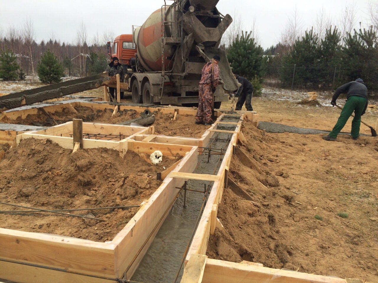 Свайно ростверковый фундамент своими руками пошаговая инструкция фото 377