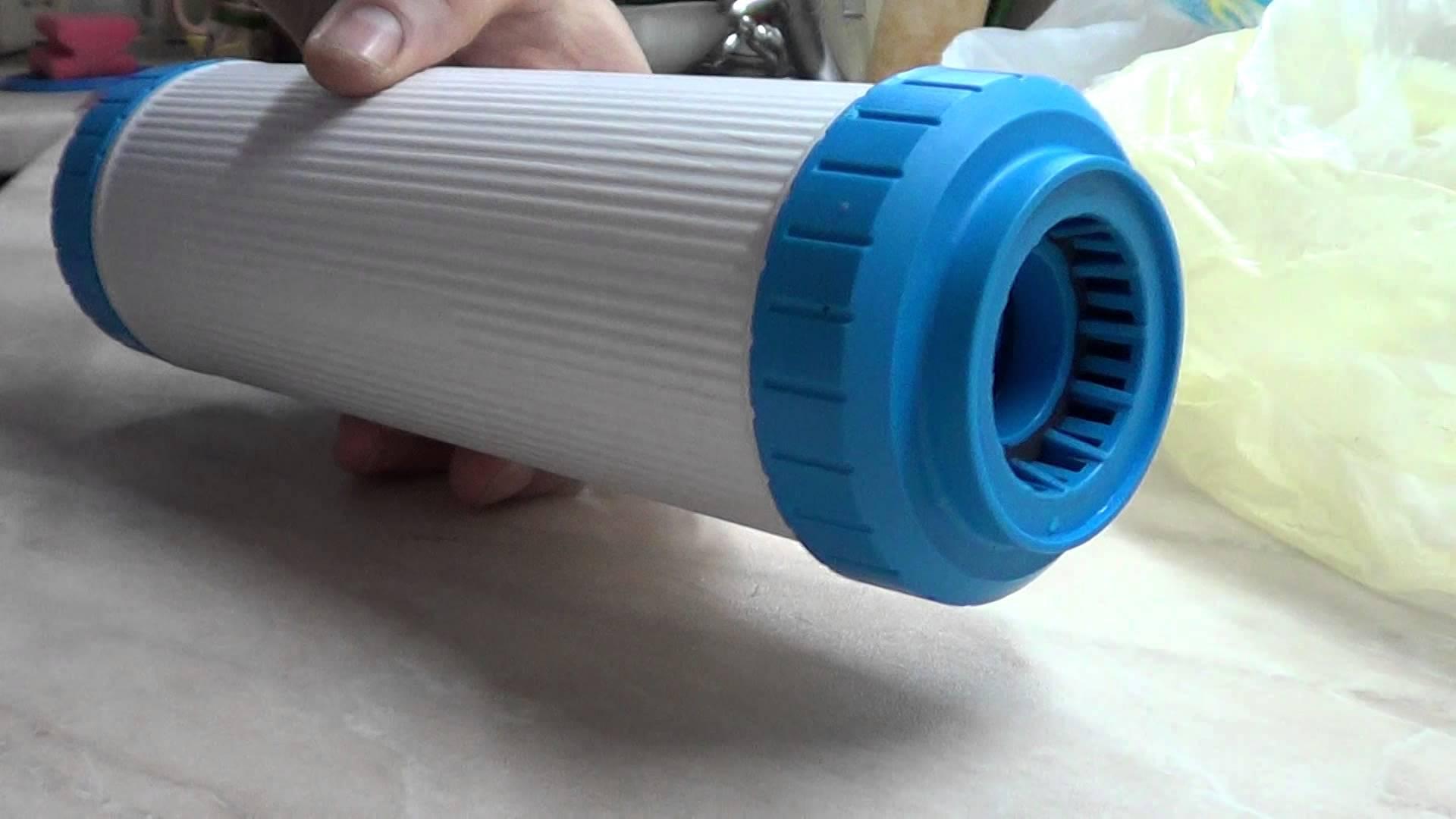 Фильтр для воды из колодца своими руками