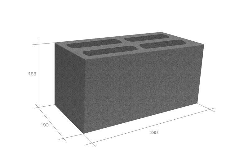 Размер блока из керамзитобетона стандартного бетона разравниватель