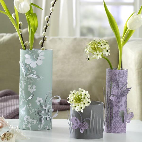 Дизайн вазы своими руками
