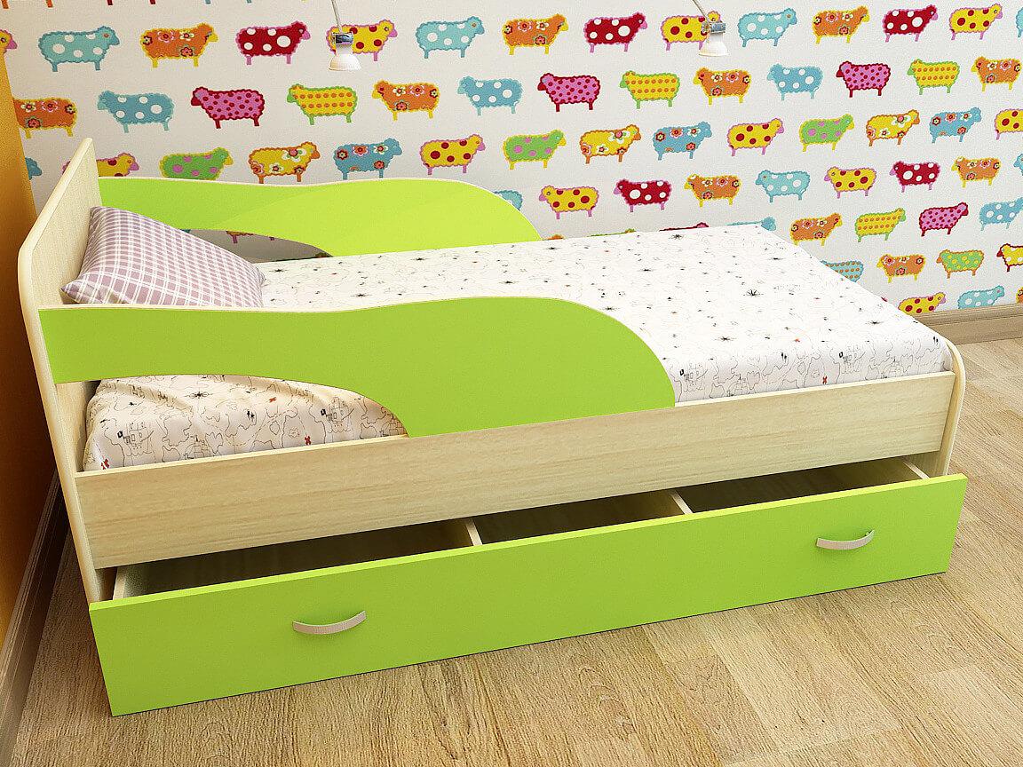 Детская кровать с бортиками картинки