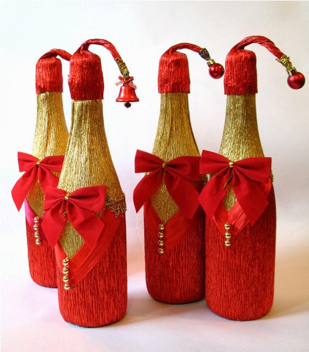 Сшить костюм для бутылки шампанского фото 462