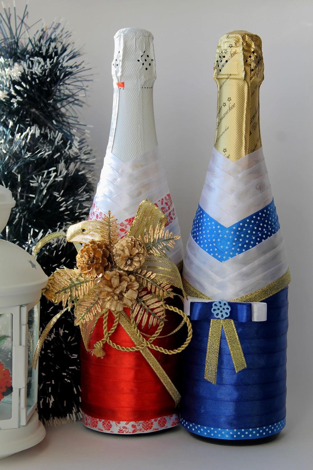Красивые бутылки своими руками фото фото 6