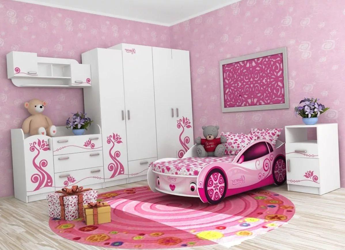 Кроватки для девочек картинки