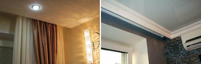 каждая деталь ниша под карниз в натяжном потолке фото фотопечать уместна для