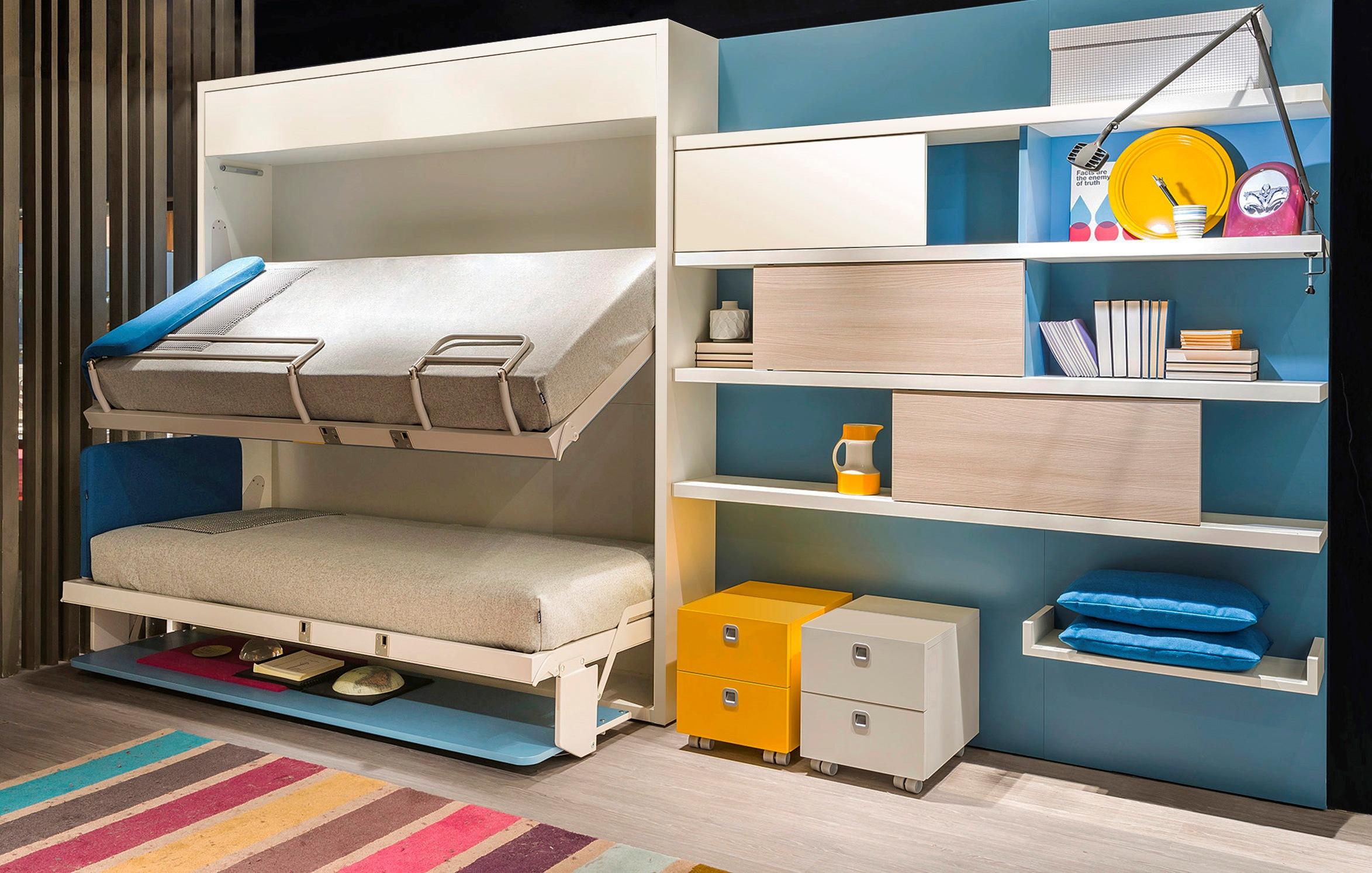 Двухъярусные кровати: разновидности и советы по выбору