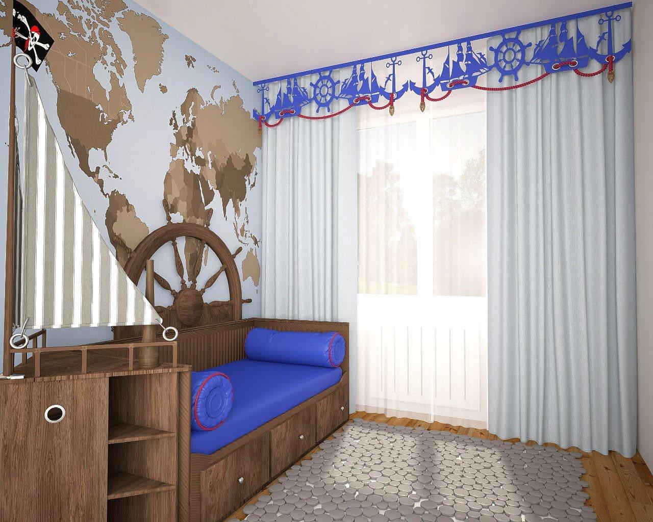 Рекомендации по выбору штор в комнату для подростка мальчика