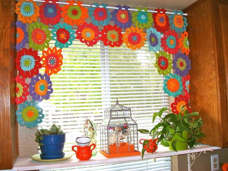 вязаные шторы 57 фото выбираем занавески с макраме вязанные