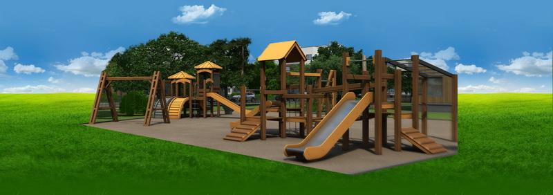Дизайн участка детской площадки