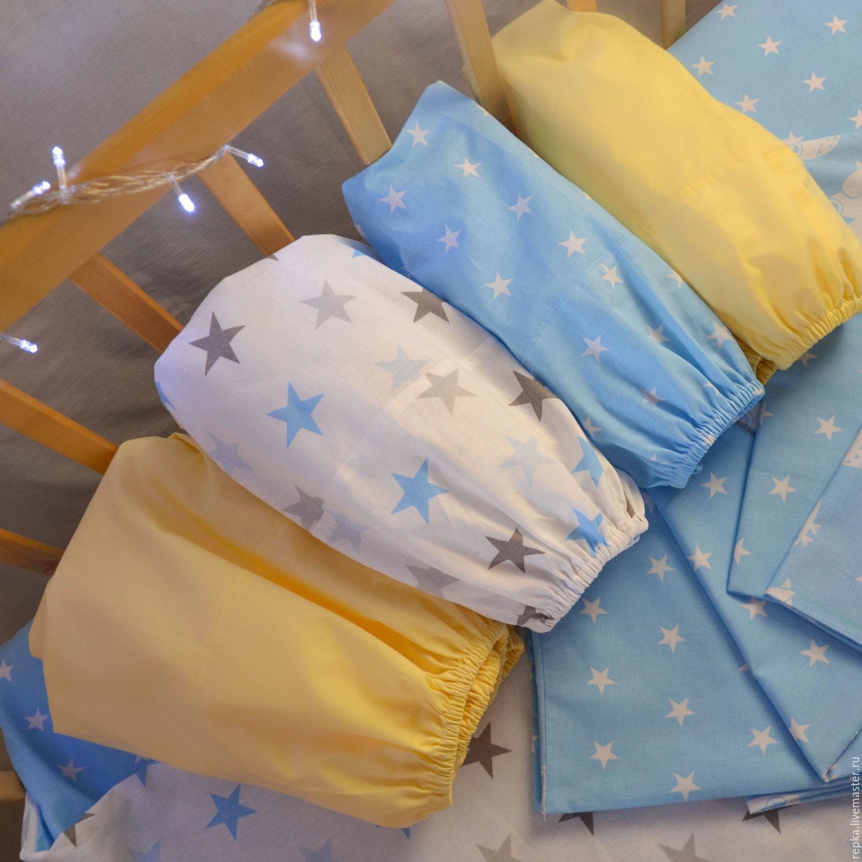 Детское постельное белье в кроватку своими руками фото 410