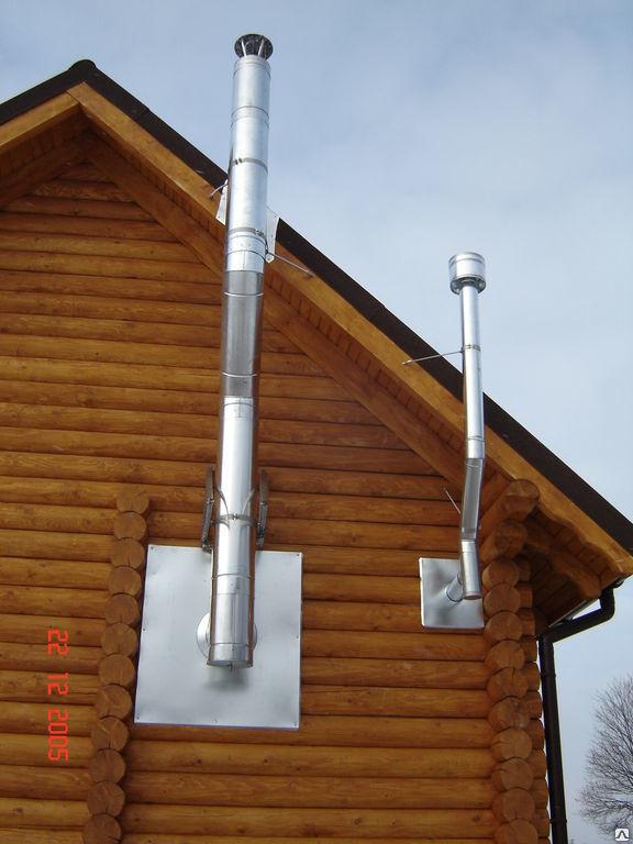 Монтаж вентиляции в деревянном доме