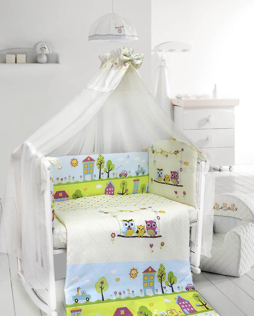 Как выбрать детское постельное бель в кроватку