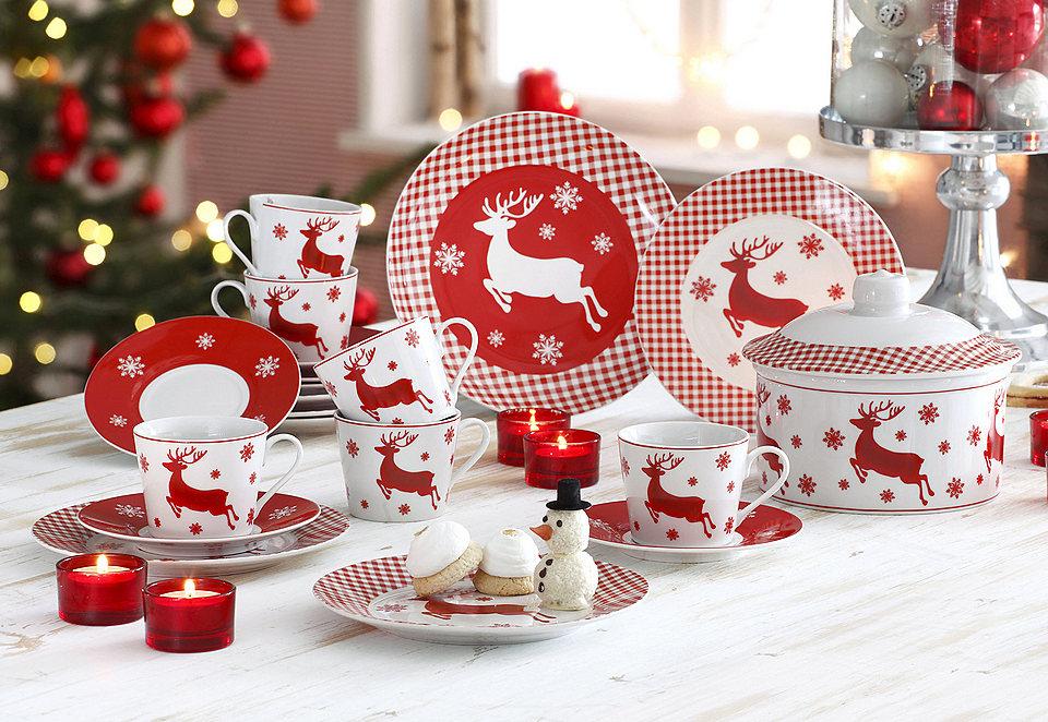 новогодняя посуда сервировать стол на новый год