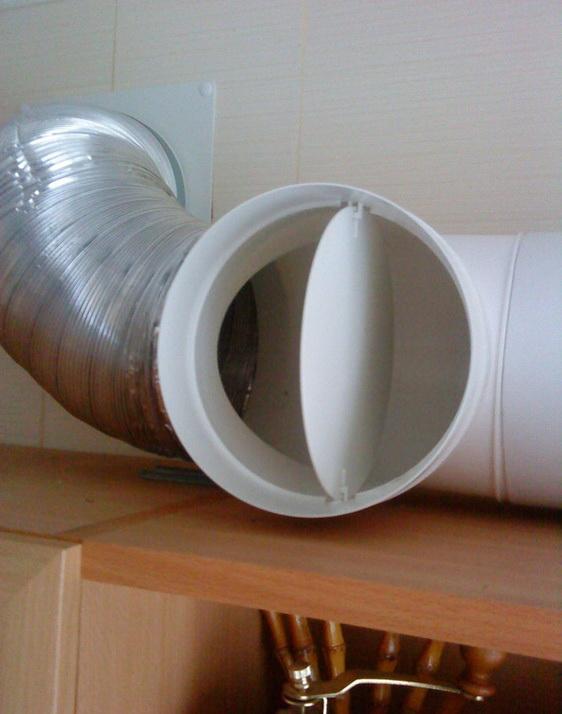 Обратный клапан на вентиляцию виды устройство установка на вытяжку