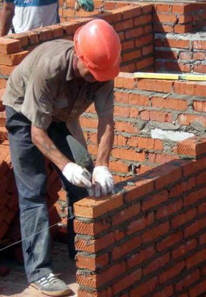 Схемы кладки в 2 кирпича кладка угла цоколя в два кирпича своими руками толщина и ширина кирпичной стены