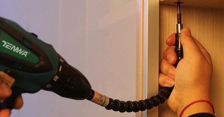 Гибкий вал для шуруповерта конструкция насадки-удлинителя или переходника назначение и применение