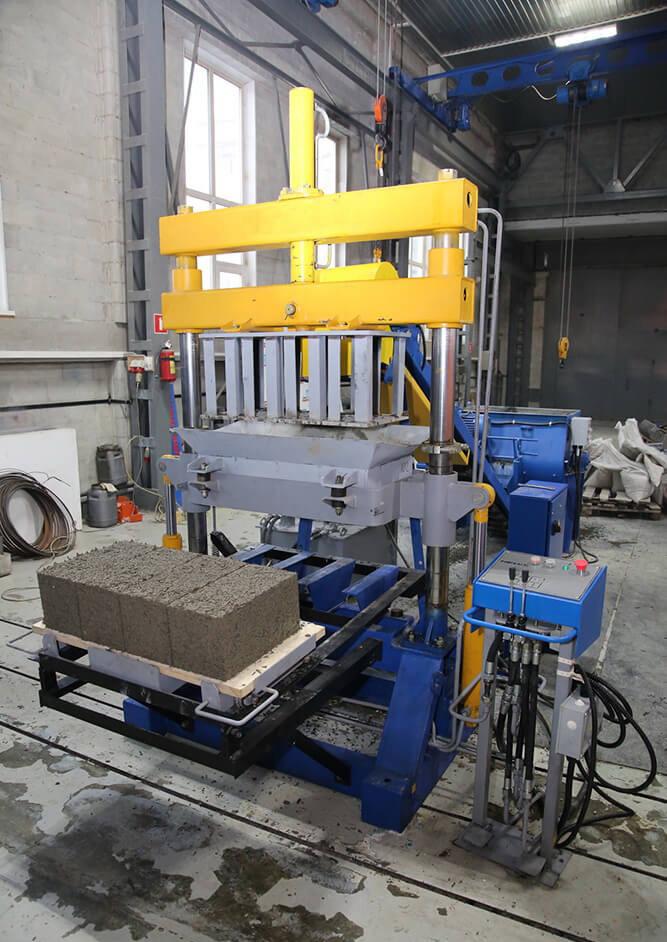 Оборудование для производства арболитовых блоков: бетоносмеситель и бетономешалка