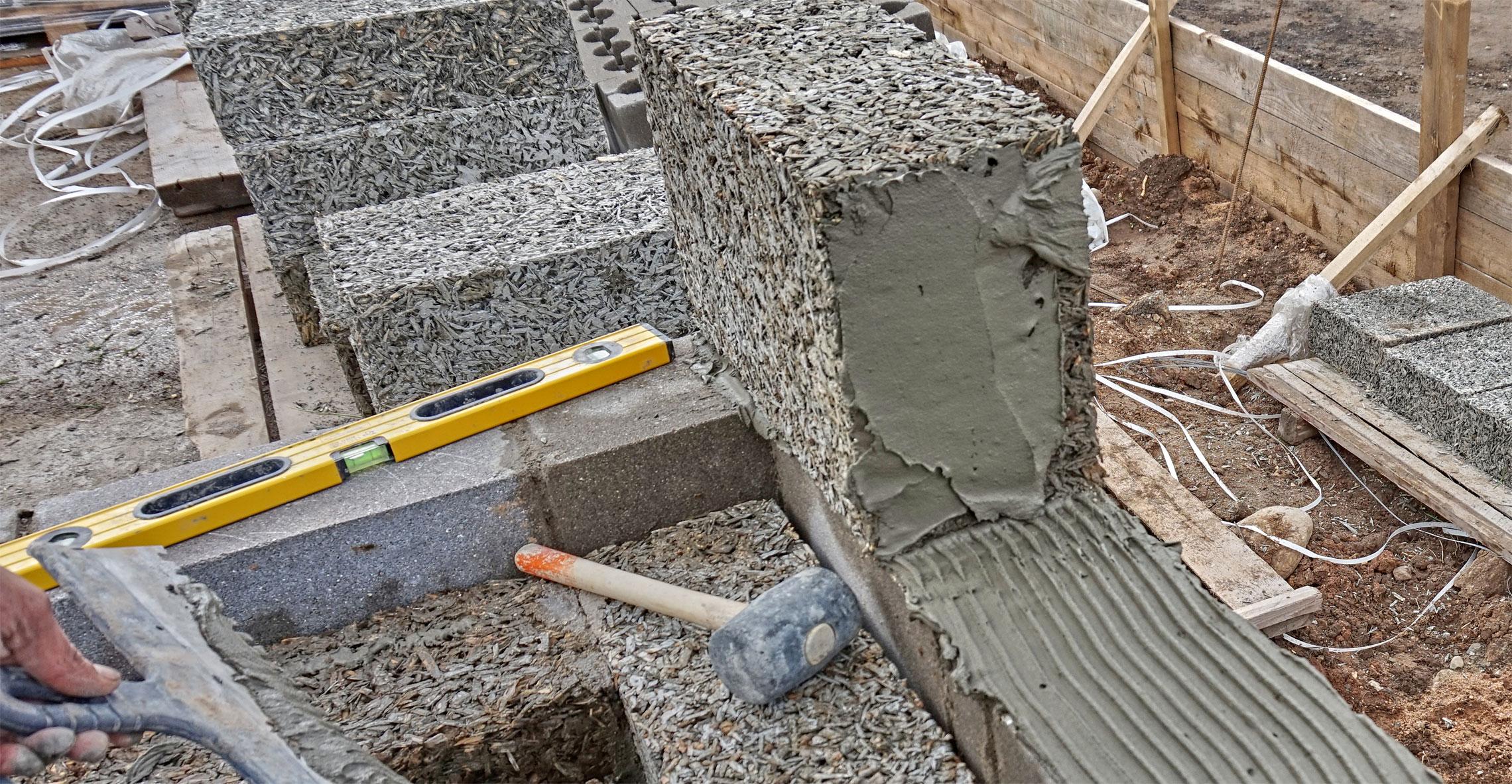 Стеновые блоки из опилкобетона своими руками фото 31