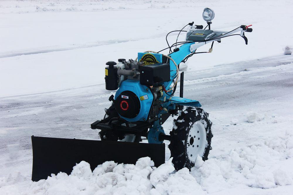 Насадка на мотоблок для уборки снега