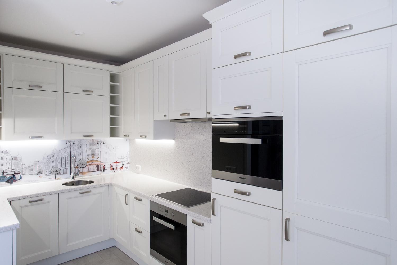 белая угловая кухня 42 фото особенности маленьких глянцевых