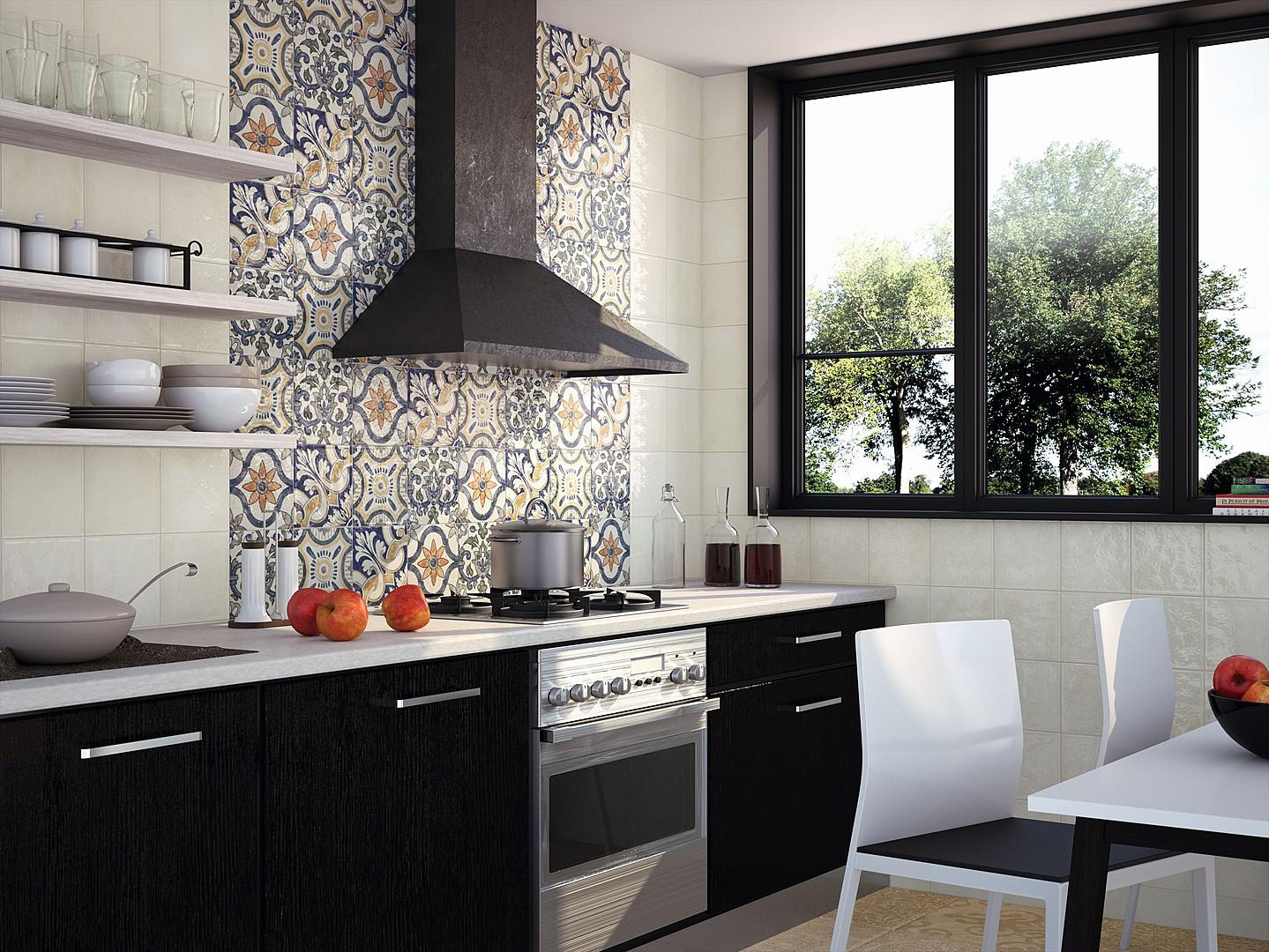 Керамическая плитка в картинках для кухни
