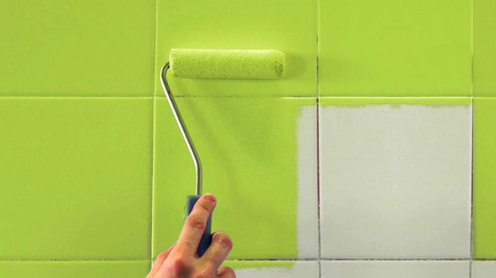 Как обновить кафельную плитку на кухне своими руками: изменить старый кафель не меняя его, обновить швы, затирку и декор
