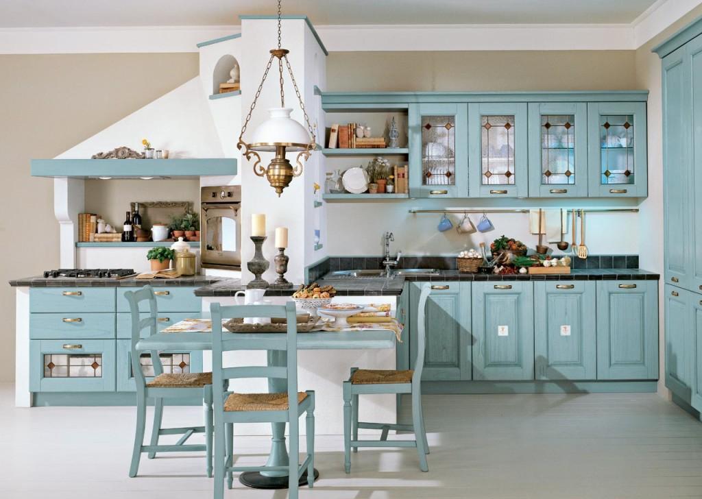 Интерьер кухни в итальянском стиле: 25 фото дизайна