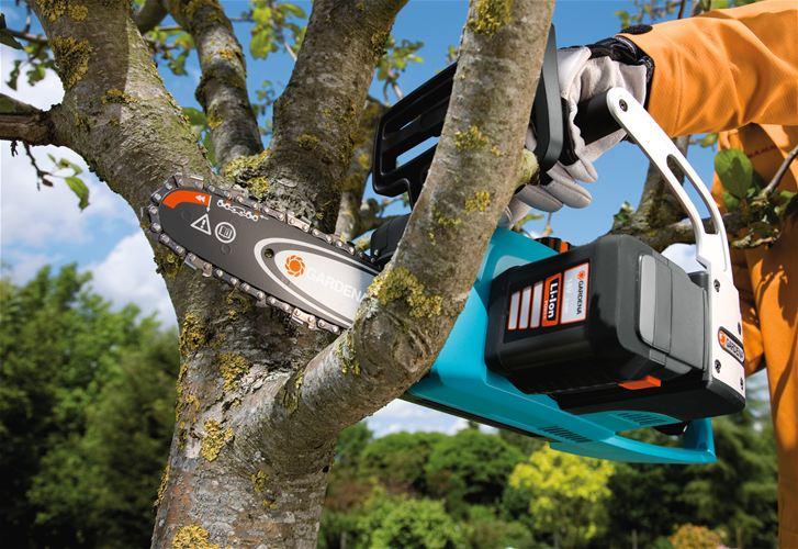 Пила для обрезки деревьев электрическая