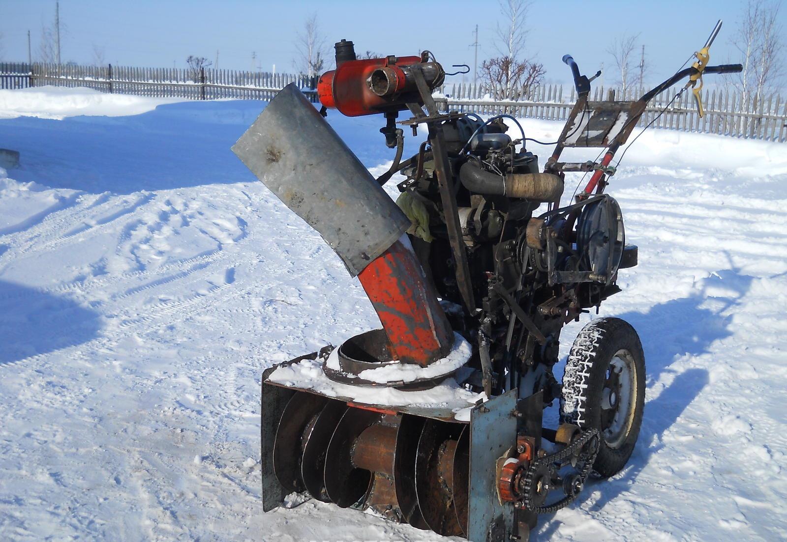 Снегоуборочная машина с электродвигателем своими руками фото 677
