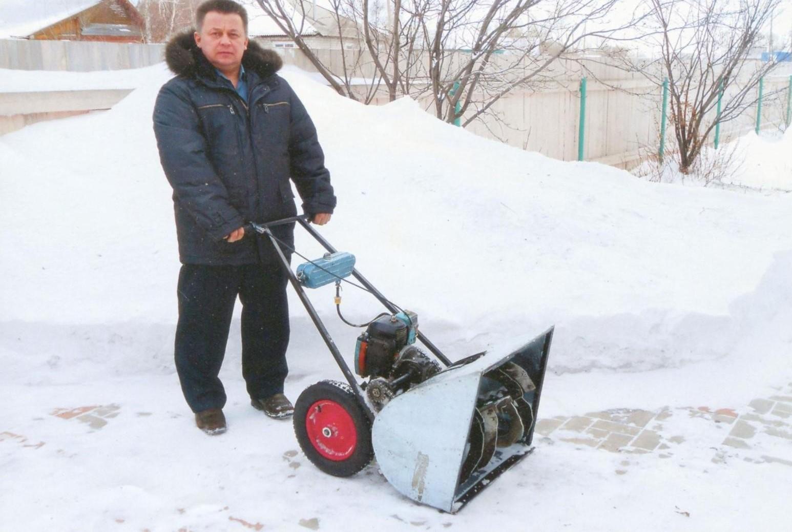 Снегоуборочная машина с электродвигателем своими руками фото 570