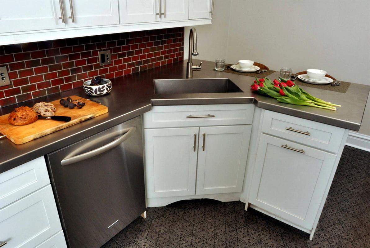 Кухонный шкаф под мойку угловой своими руками фото 903