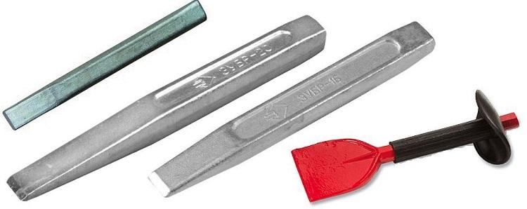 Слесарные зубила обзор зубила с победитовым лезвием 160 мм и других моделей Что это такое и из каких частей состоит Размеры и требования по ГОСТу