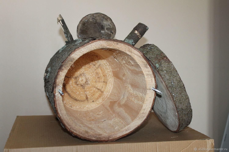 Сделать танк из дерева своими руками