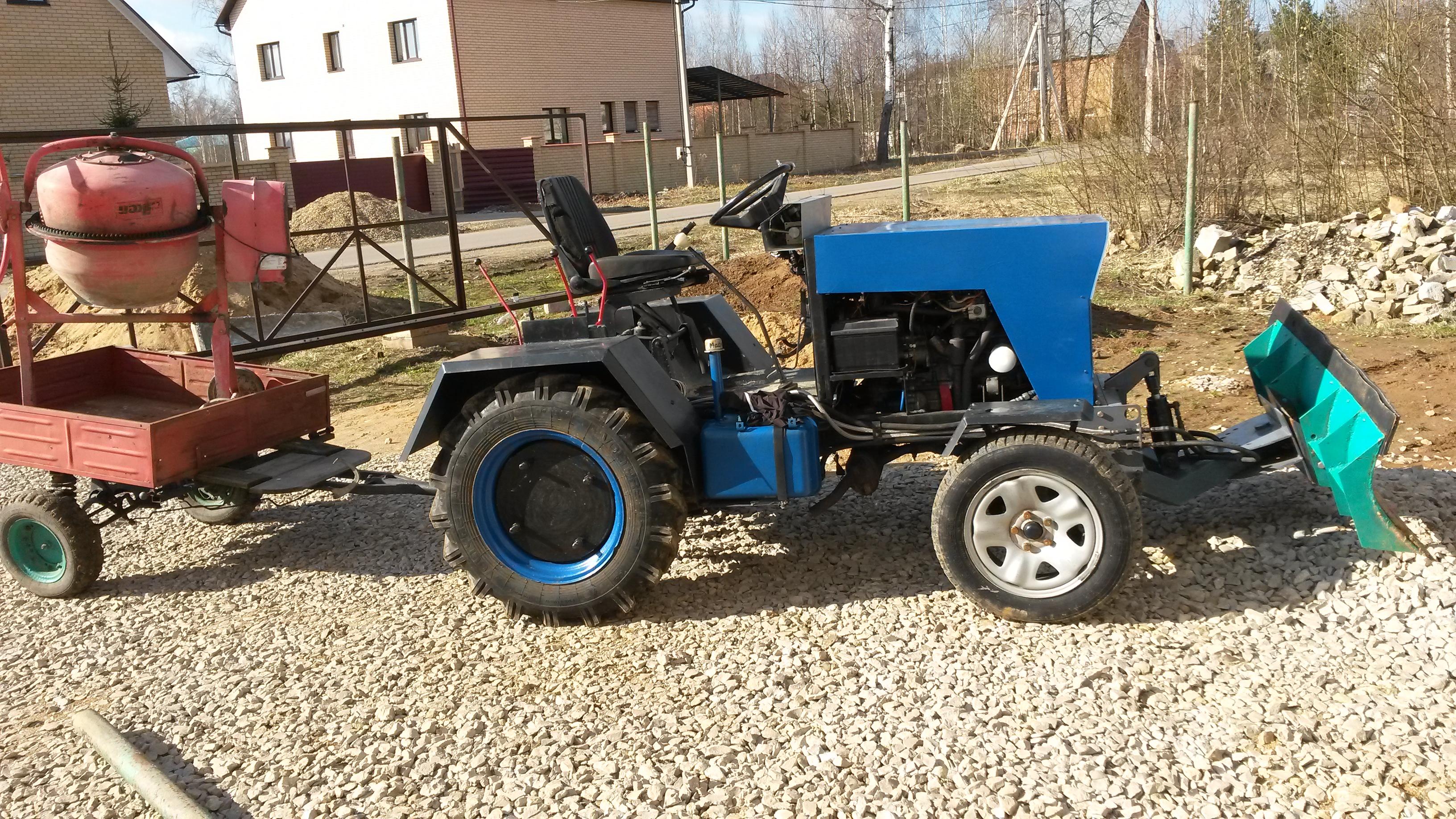 картинки самодельных тракторов - 14