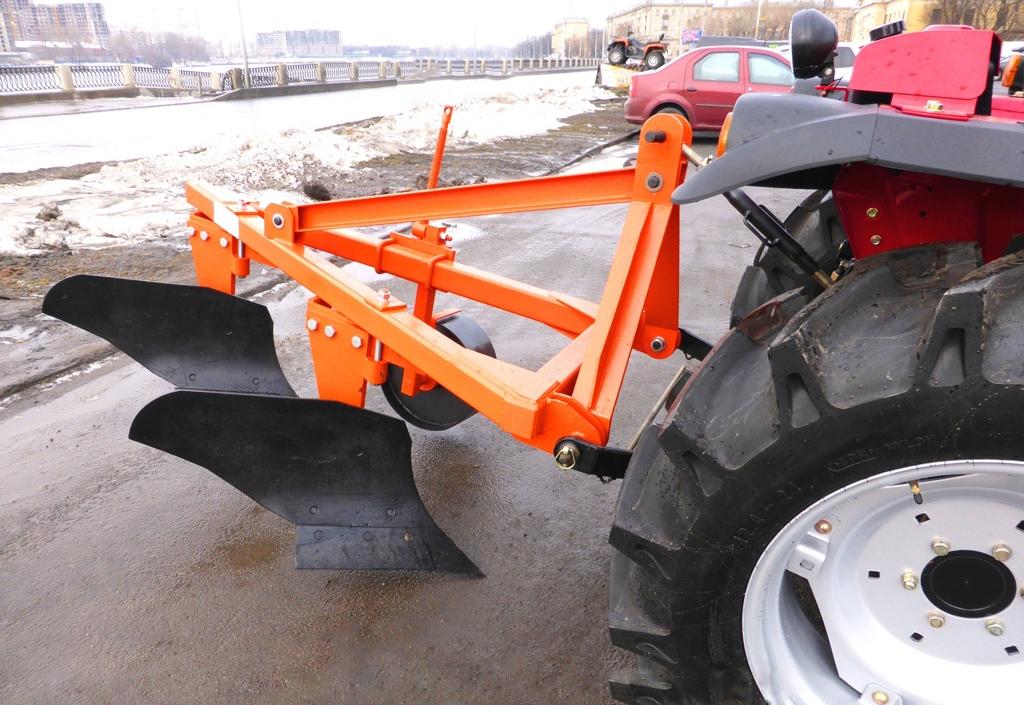 Как сделать плуг на мини-трактор своими руками?