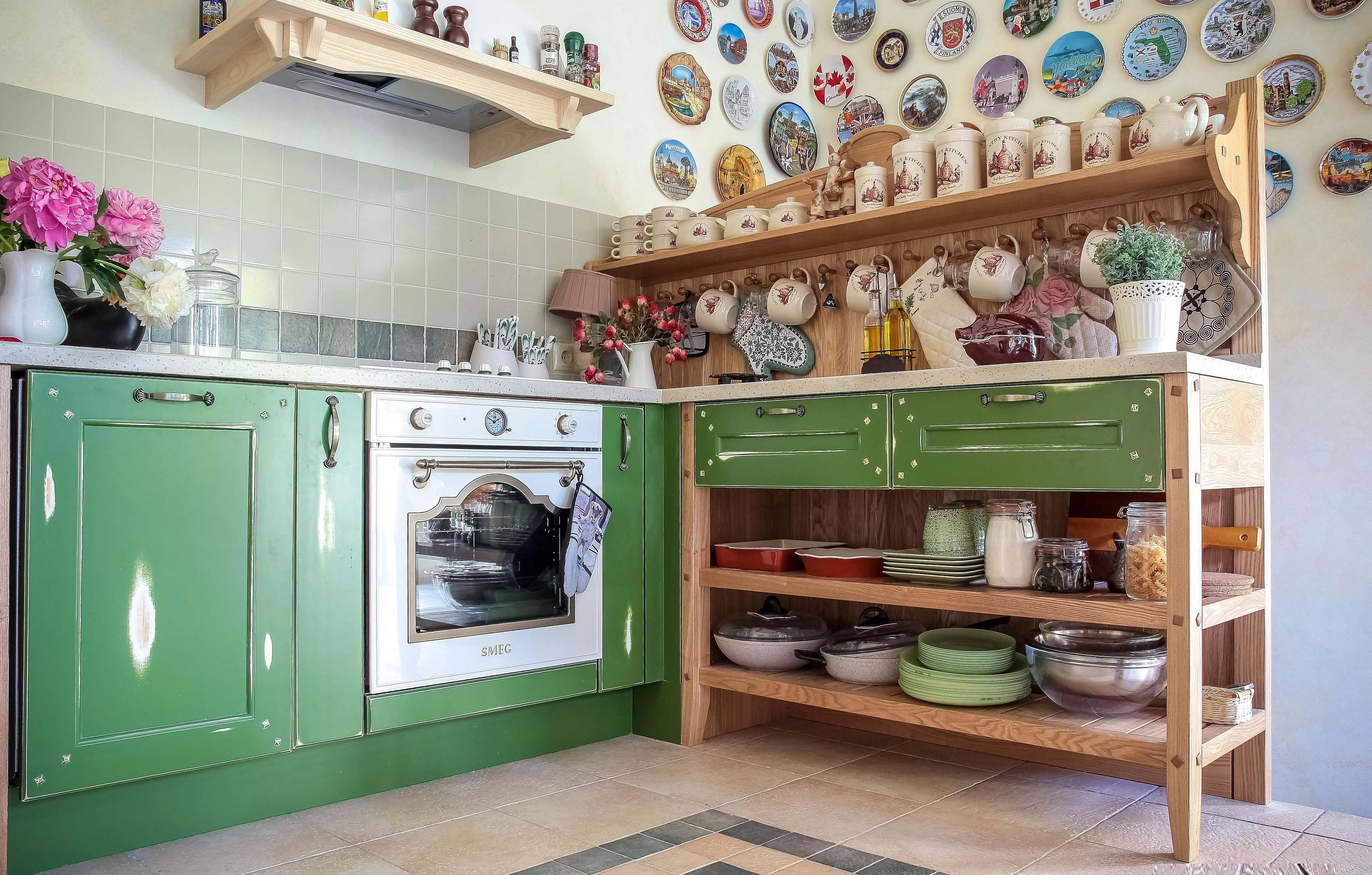 Как сделать стеллаж на кухне своими руками фото 21