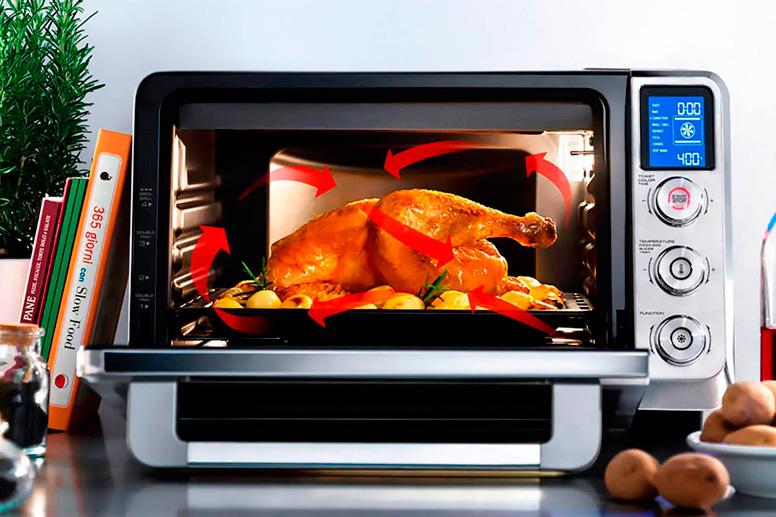 печь духовка электрическая настольная с конвекцией