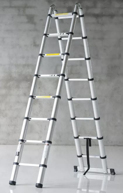 Размеры стремянок особенности моделей 2-4 метра и 5-6 метров характеристики складных стремянок 10-12 м