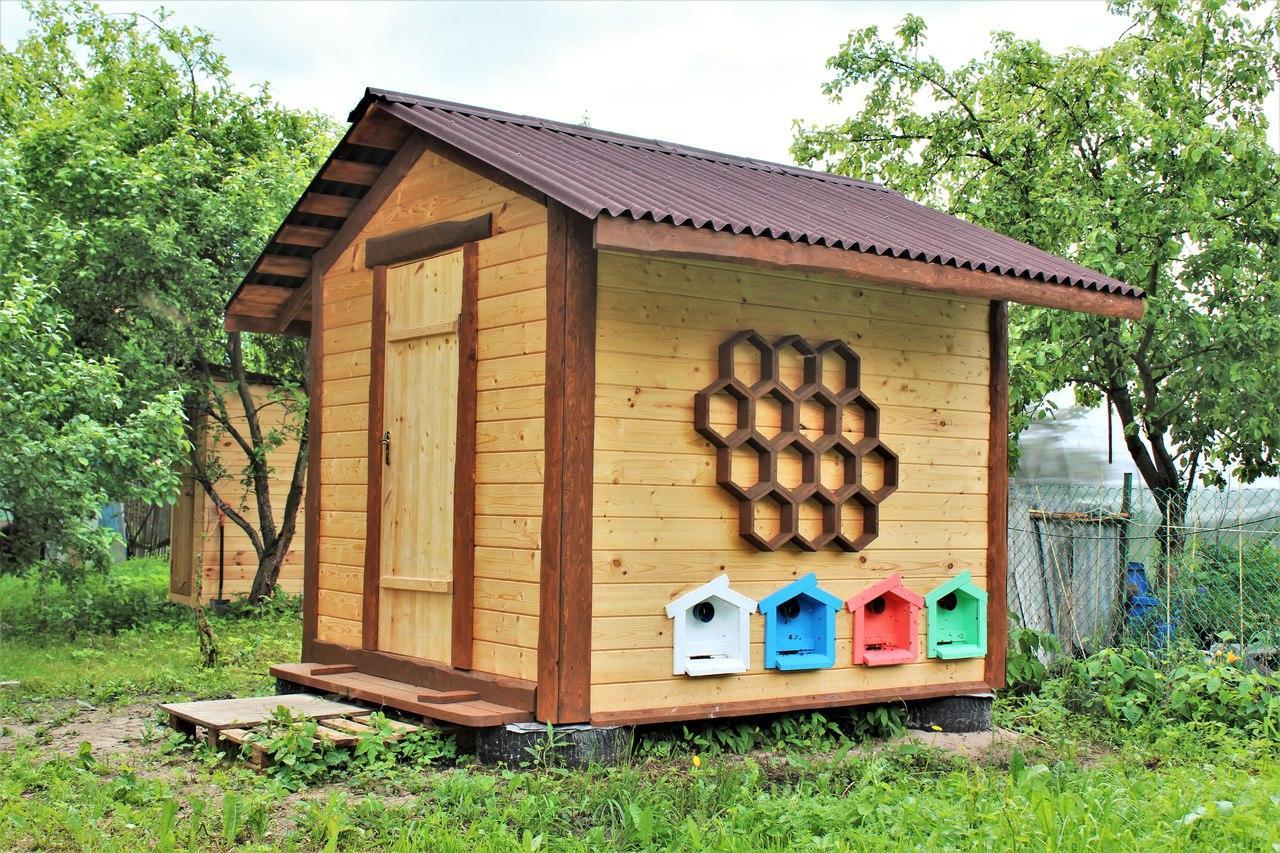 Домик для пчёл: виды, особенности конструкции, требования, как сделать домик своими руками