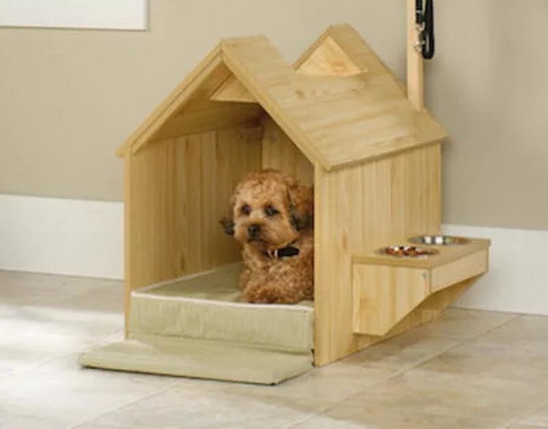 Домик для большой собаки в квартире