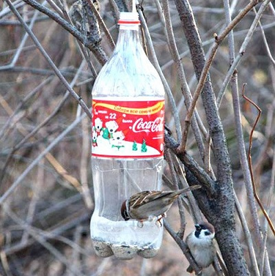 Как сделать кормушку из бутылки 2 литра фото 245