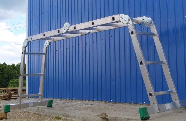 Лестница-трансформер - какую выбрать ТОП-5 лучших алюминиевых лестниц-трансформеров