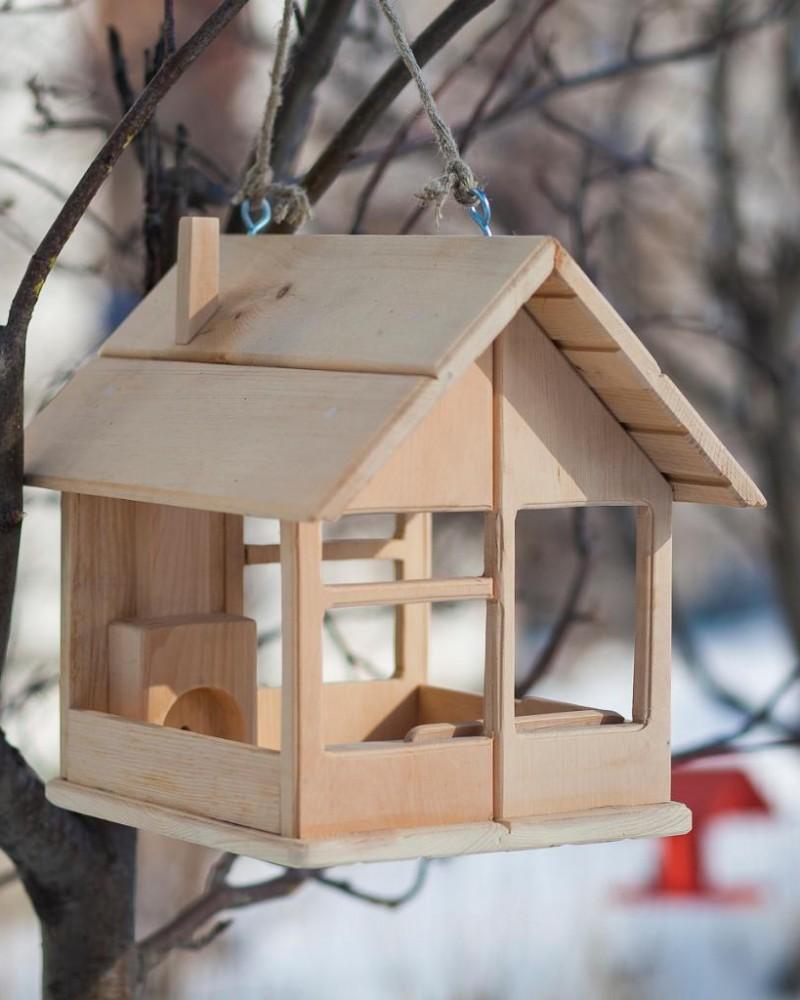 обнулите новые пошаговое фото изготовления деревянной кормушки пожелать