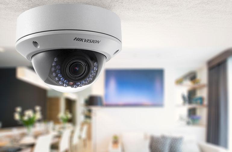 Видеонаблюдение квартира установка