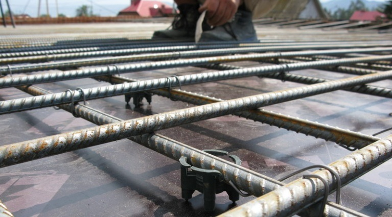как залить бетонное перекрытие